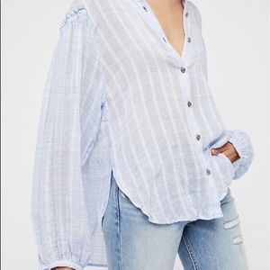 Free People Headed to Highlands Button Shirt